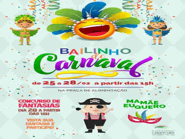 Carnaval é no Plaza Shopping Carapicuíba