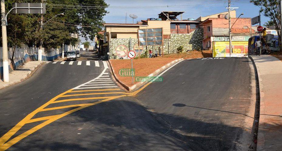 9bcd45c45a2 Obra de trânsito deixa acesso à estrada da Aldeinha mais fácil e seguro