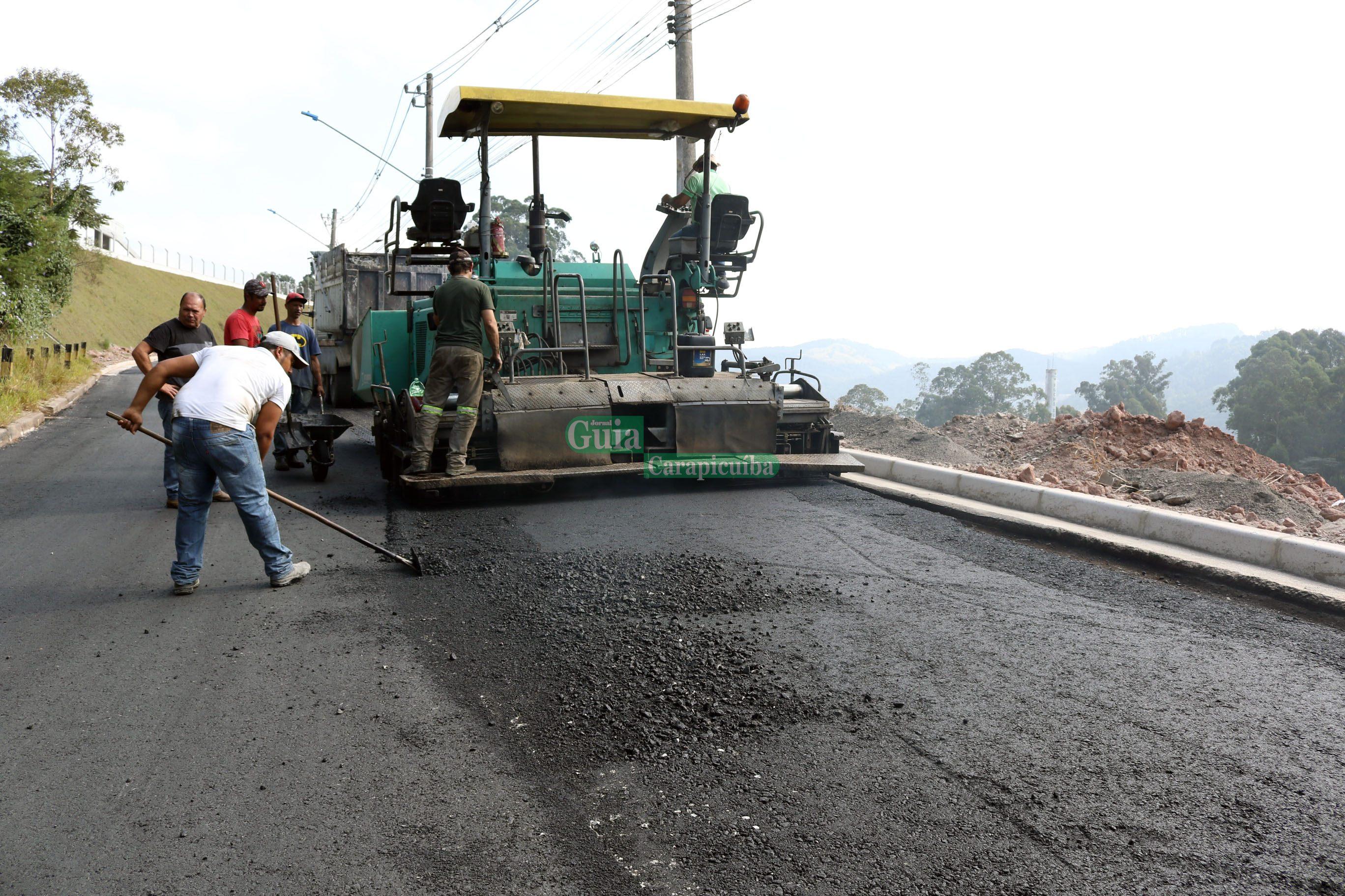 8a7dbd23dac Projeto de pavimentação asfáltica alcança três novos bairros em ...