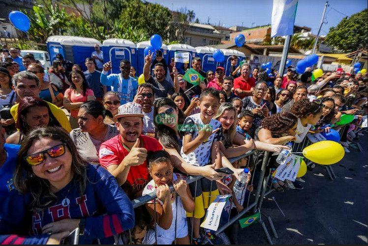 17120c558e7 Mais de 10 mil pessoas assistem ao Desfile de 7 de setembro em ...